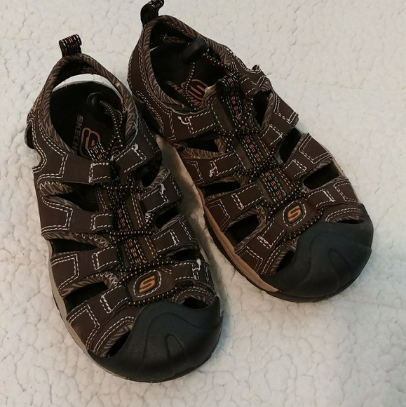 Skechers Shoes | Kids Brown Sandals11